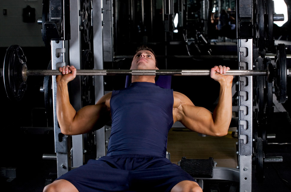 barbell bench press incline muscle groups worked chest how to perform ...